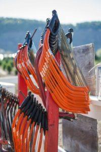 hand saws available at Hagle Christmas Tree Farm