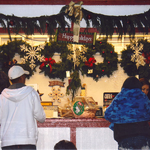 front desk at Hagle Tree Farm