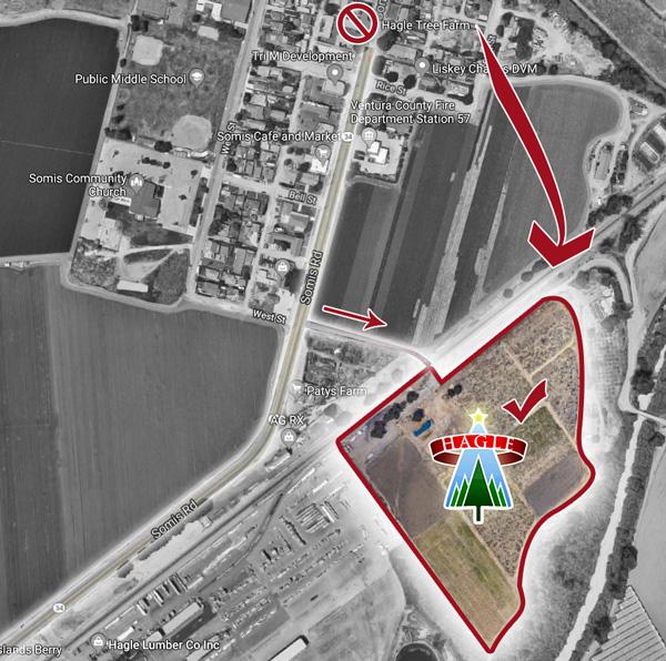 Hagle Tree Farm Map Location